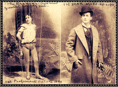 Beatrice and Harry Houdini_in-their first year of married life