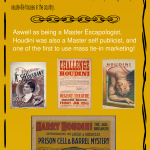 Houdini Life and Times - Infographic - artographico