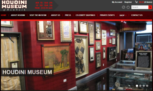 Houdini Museum - New York