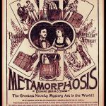 Metamorphisis - Harry and Bess Houdini - The Houdinis