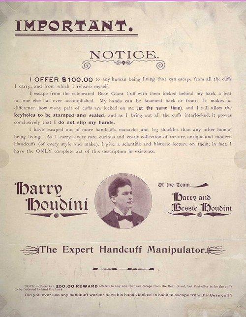 The Expert Handcuff Manipulator Challenge