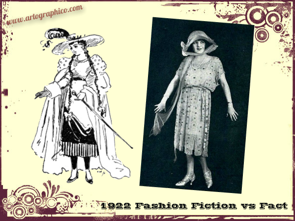 1922 Fashion - Fiction vs Fact - artographico _ PNG