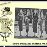 1935 Fashion - Fiction vs Fact - artographico _ PNG