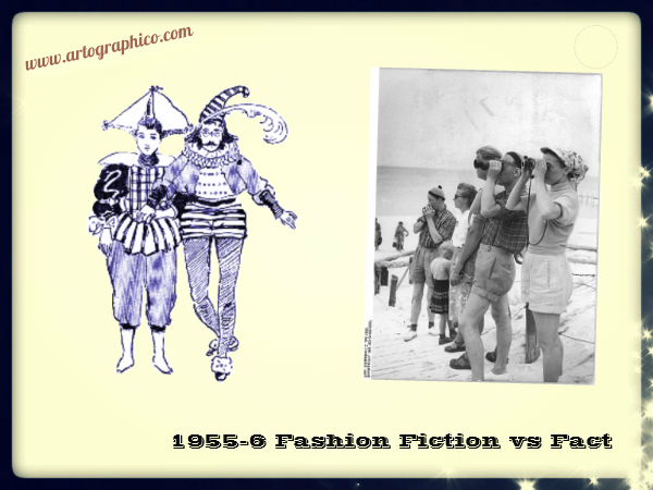 1955-6 Fashion Fiction vs Fact - artographico PNG