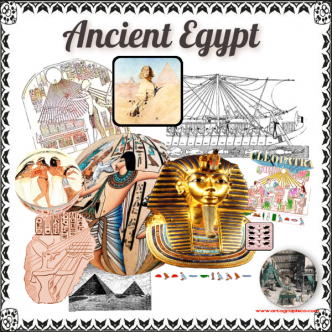 Ancient Egyptian Art - Artographic / Infographic