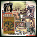 Houdini Collage - Life & Times