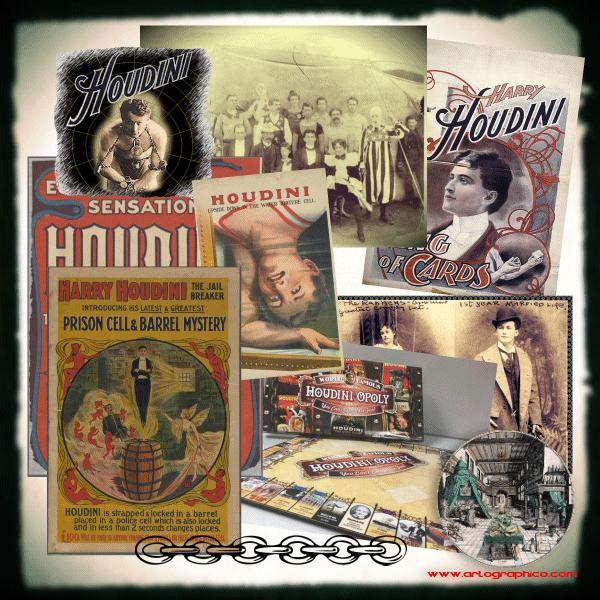 Collage Houdini - Escape Artist