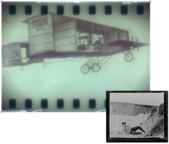 Fligh Over Australia and Movies - Houdini