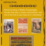 Houdini Life and Times – Infographic