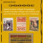 Houdini Life and Times – Infographic – artographico