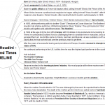 Houdini Mindmap Life and Times TIMELINE png