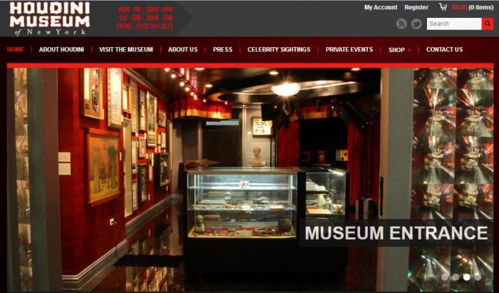 Houdini Museum - New York