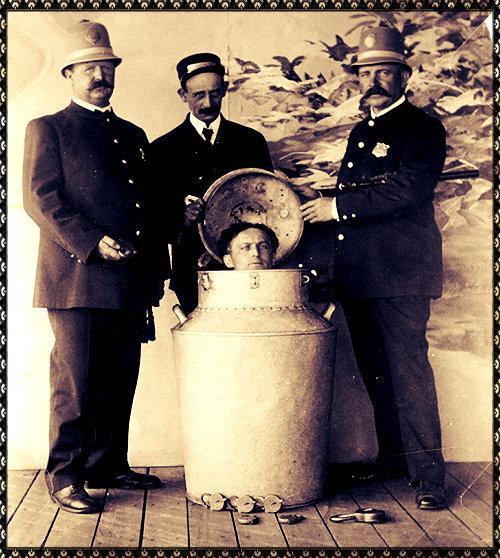 Houdini's Milk-Can Escape