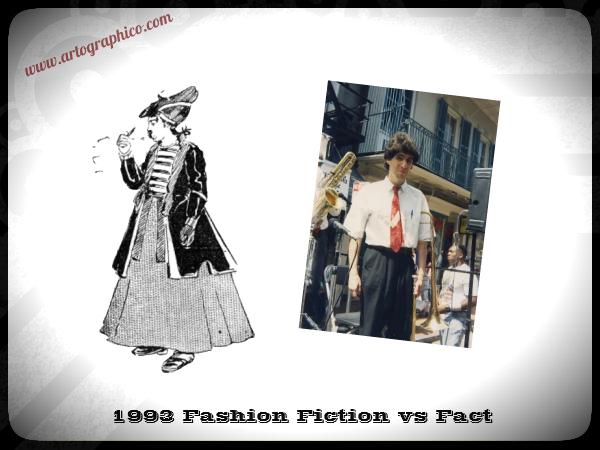 1993 Fashion Fiction vs Fact - artographico PNG